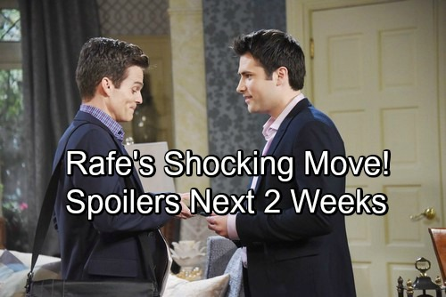 Days of Our Lives Spoilers for Next 2 Weeks: Xander Helps Theresa Escape – Rafe Shocks Hope – Chad and Stefan's Brutal Brawl