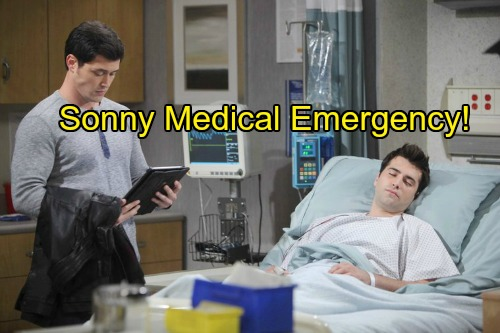 Days of Our Lives Spoilers: Sonny's Shocking Medical Crisis – Rushed to Memphis Hospital