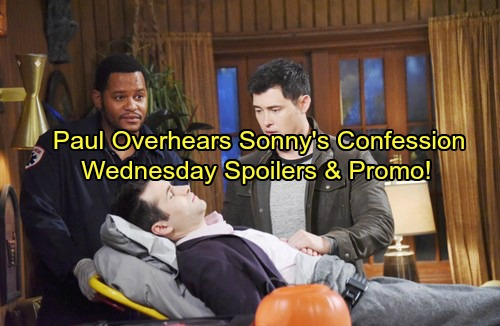 Days of Our Lives Spoilers: Paul Overhears Sonny's Startling Confession – Eli Is Gabi's Hero – Justin Deals with Sami's Mess
