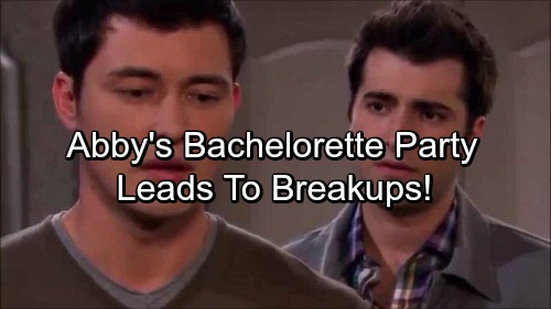 Days of Our Lives Spoilers: Abigail's Bachelorette Party Confessions Lead To Couples Facing Breakups