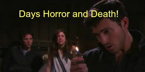 Days of Our Lives Spoilers: Ben Steals Abby's Son - DOOL Promo Promises Fire, Kidnapping, Death, Revenge and More!