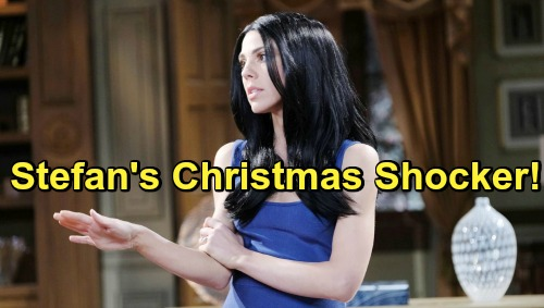 Days of Our Lives Spoilers: Abigail Shocks Stefan with Fake Gabby Plot Reveal – Duped DiMera Gets Horrible Christmas Present