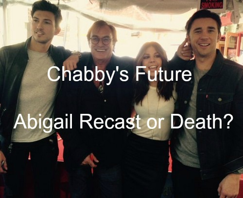 Days of Our Lives (DOOL) Spoilers: Abigail Recast or Departure - Kate Mansi Exit Details - Chabby Future Revealed
