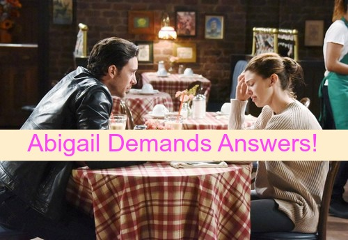 Days of Our Lives (DOOL) Spoilers: Abigail Blames Andre and Stefano for Chad's Bizarre Behavior - Demands Answers