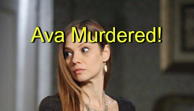 Days of Our Lives (DOOL) Spoilers: Another Murder Shocks Salem – Ava Meets a Gruesome End?