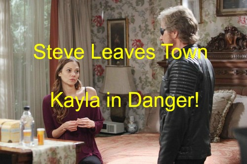 Days of Our Lives (DOOL) Spoilers: Steve's Son Baby in Pics Says Ava – Kayla in Danger From Ava as Steve Leaves Town