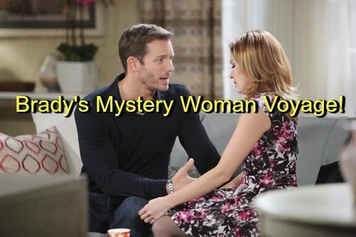 Days of Our Lives (DOOL) Spoilers: Brady Heads to California to Find Mystery Woman – Theresa and Nicole Follow