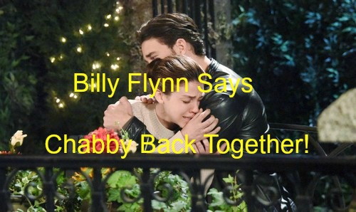 Days of Our Lives (DOOL) Spoilers: Billy Flynn Says 'Chabby' Is Forever – Chad and Abigail's Breakup Will Pass Quickly!