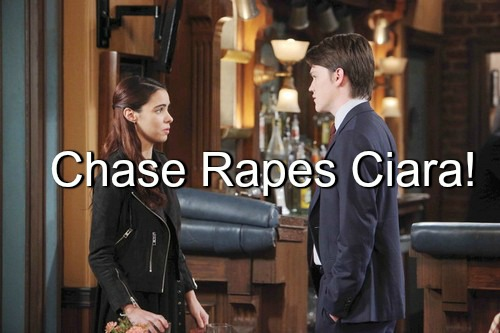 Days of Our Lives (DOOL) Spoilers: Soap Sex Shocker – Chase Rapes Ciara?