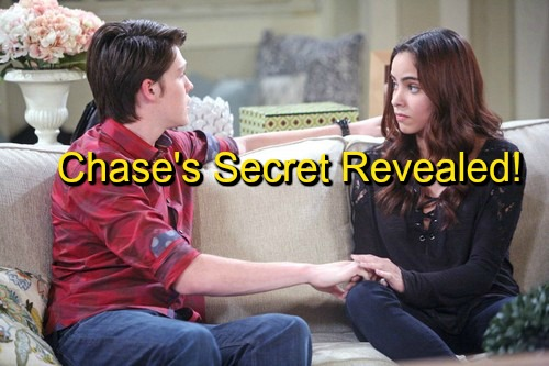 Days of Our Lives (DOOL) Spoilers: Ciara Learns Chase's Shocking Secret – Theresa Envious of Brady and Nicole's Dream Bond