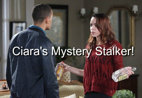 Days of Our Lives (DOOL) Spoilers: Ciara's Deadly Mystery Stalker Lurks – Claire Makes a Move on Chase, Ciara Freaks