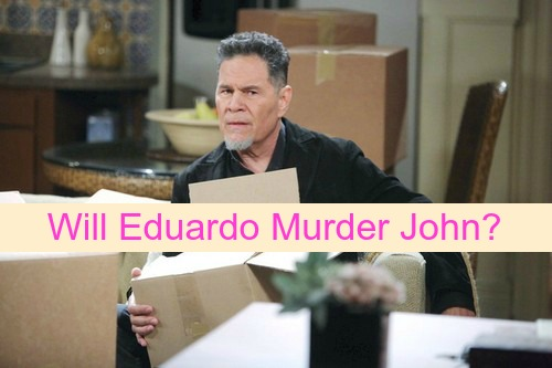 Days of Our Lives (DOOL) Spoilers: Eduardo Admits Mission to Murder John - Is There a Way Out?