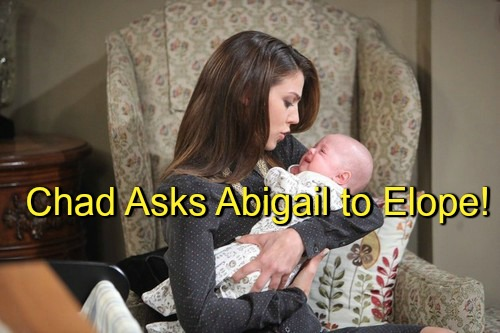 Days of Our Lives (DOOL) Spoilers: Chad Elopes With Abigail After Andre Reveals Hope Murdered Stefano