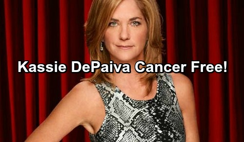 Days of Our Lives Spoilers: Kassie DePaiva Cancer Free - DOOL Star Announces Great News