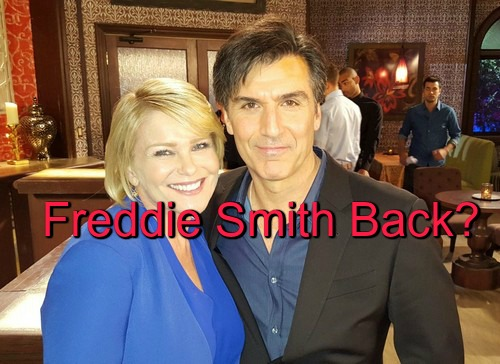 Freddie Smith Back as Sonny – Spotted With Script in Pic on DOOL Set