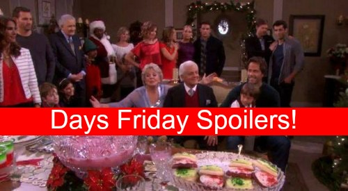 Days of Our Lives (DOOL) Spoilers: Ava to Unleash Wrath – Steve's Christmas Proposal – DiMeras React to Abigail's Rage