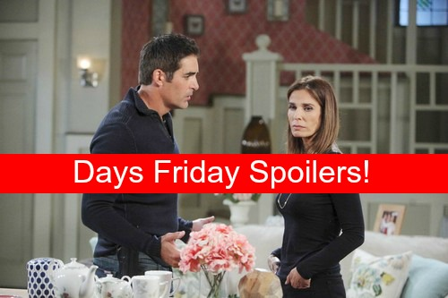 Days of Our Lives (DOOL) Spoilers: Hope's Intense Showdown Over Bo Leads to Stefano Heart Attack?