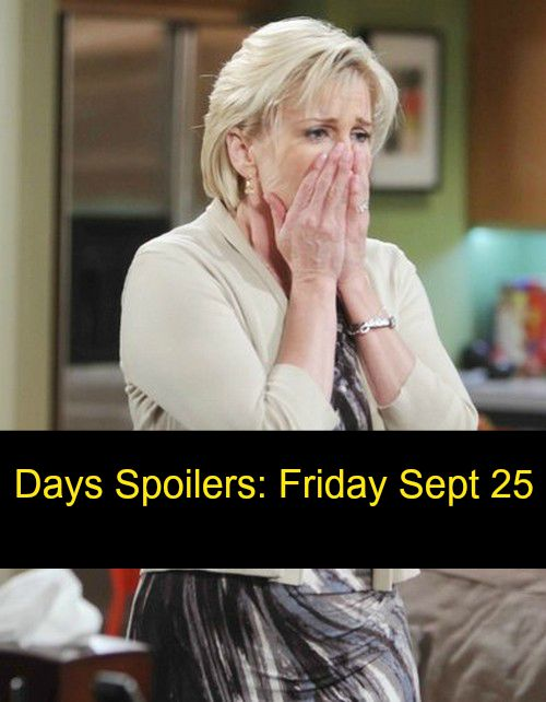Days of Our Lives (DOOL) Spoilers: Andre DiMera Returns, Lani Price Debuts - Adrienne Breast Cancer - Bo Fights to Escape