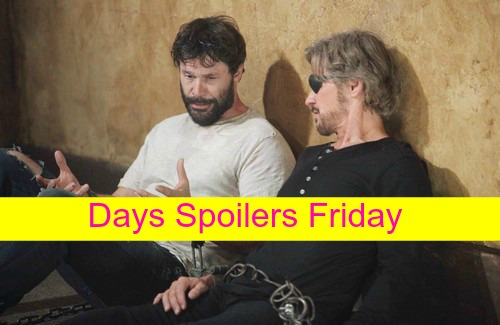 Days of Our Lives (DOOL) Spoilers: Shawn's Back in Salem, Hates Aiden – Steve and Bo Reunite - JJ Becomes a Cop?
