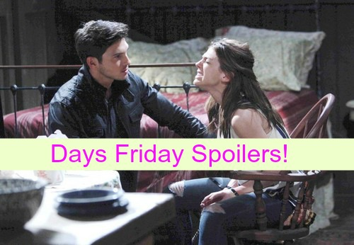Days of Our Lives (DOOL) Spoilers: Abigail in Premature Labor, Ben Refuses to Take Captive to Hospital - Chad Panics