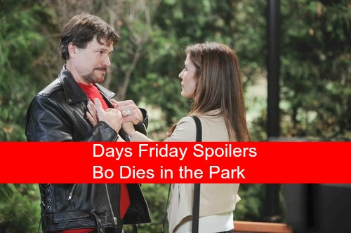 Days of Our Lives (DOOL) Spoilers: Bo's Final Heartbreaking Farewell, Dies in The Park - Caroline's Tragic Vision Come True
