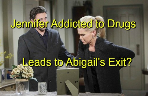 Days of Our Lives (DOOL) Spoilers: Jennifer's Downward Spiral – Eric Suspects Drug Addiction - Abigail's Exit Storyline