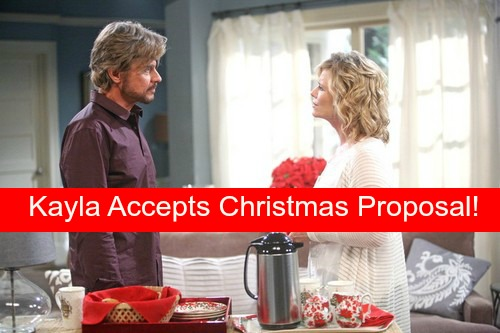 Days Of Our Lives Dool Spoilers Kayla Accepts Steves Christmas