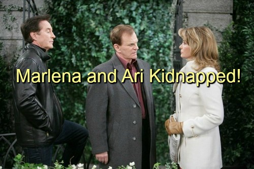 Days of Our Lives (DOOL) Spoilers: Marlena and Ari Kidnapped – John and Eduardo Work Frantically to Save Their Lives