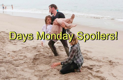 Days of Our Lives (DOOL) Spoilers: Ava Pushes Kayla Too Far, Provokes a Beating - Brady's Heroic Rescue of Summer Drowning