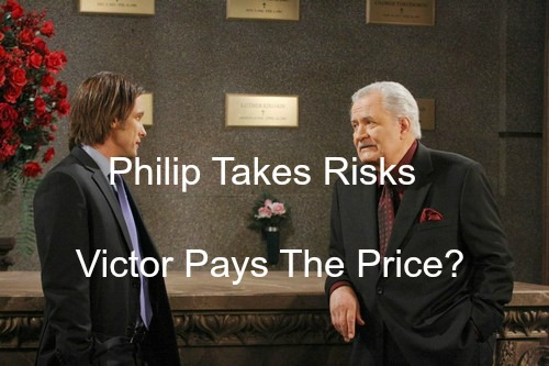 Days of Our Lives (DOOL) Spoilers: Philip Takes Risks at Titan, Victor Pays The Price – Sparks Fly for Philip and Belle