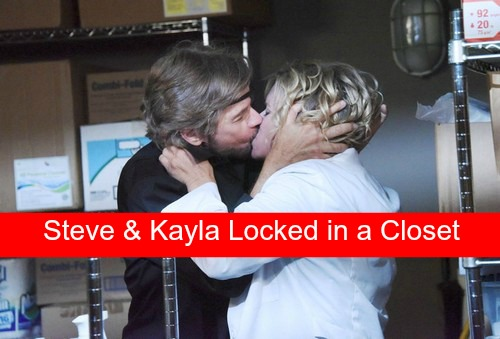 Days of Our Lives (DOOL) Spoilers: Steve and Kayla Locked in Closet, Get Steamy - New Jobs for Paul and Gabi