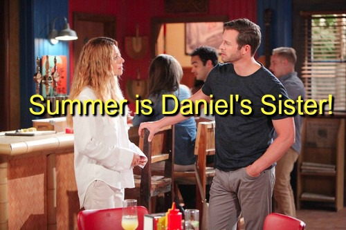 Days of Our Lives (DOOL) Spoilers: Summer is Daniel's Sister – Andre Arrested - Kayla Saves Ava's Life