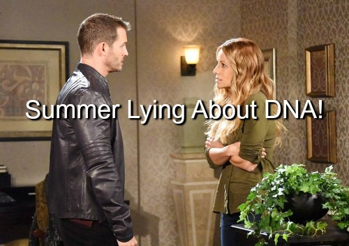 Days of Our Lives (DOOL) Spoilers: Is Summer Lying About DNA - Con Artist Barges in on Brady and Theresa's Love Making
