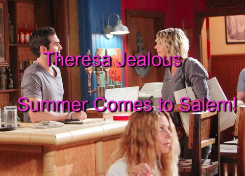 Days of Our Lives Spoilers: Brady Brings Summer to Salem, Theresa's Jealous Panic – Gabi and JJ Heat Things Up in Bedroom