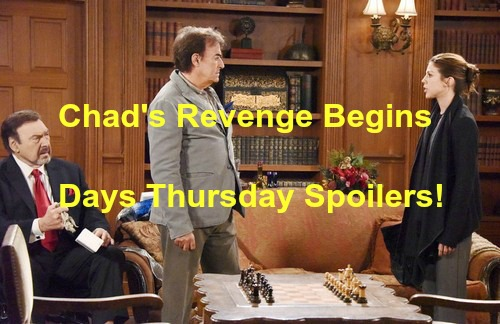 Days of Our Lives (DOOL) Spoilers: Chad Dupes Stefano and Andre, Revenge Begins – Rafe Pumps Andre on Dr. Malcolm