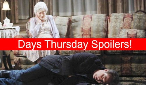 Days of Our Lives (DOOL) Spoilers: John Poisoned by Mother, Faces Deadly Enemy – Gabi and JJ's Hot Kiss