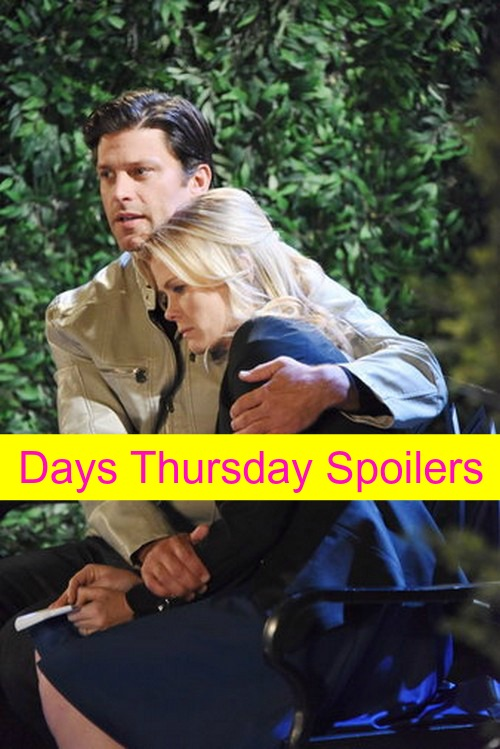 Days of Our Lives (DOOL) Spoilers: Chad Arrested – Sami's Hints of EJ – John's New ISA Assignment