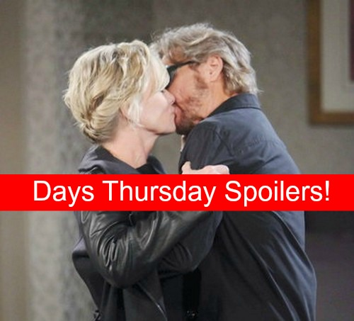 Days of Our Lives (DOOL) Spoilers: Steve and Kayla's Love Session – Philip Gets Down to Business, Clashes With Brady