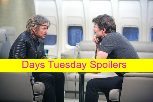 Days of Our Lives (DOOL) Spoilers: Bo and Steve Bust Out, Escape Gas Leak Before Explosion – Aiden Prepares For Murder?