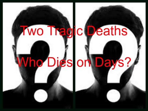 Days of Our Lives (DOOL) Spoilers: Two Major Character Deaths - One an Accident, Other Cold-Blooded Murder - 2016 Storylines