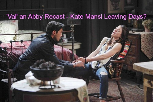 Days of Our Lives (DOOL) Spoilers: Kate Mansi Status - Casting Call for 'Val' Contract Role a Disguised Abigail Recast?