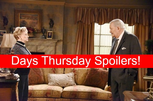 Days of Our Lives (DOOL) Spoilers: Coroline's Scary Victor Vision - Daniel's Heart Affects Brady's Mind – Andre Suspects Hope
