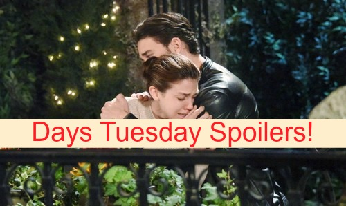 Days of Our Lives (DOOL) Spoilers: Abigail Haunted by Ben, Chad Offers Love – Gabi and JJ Grow Closer