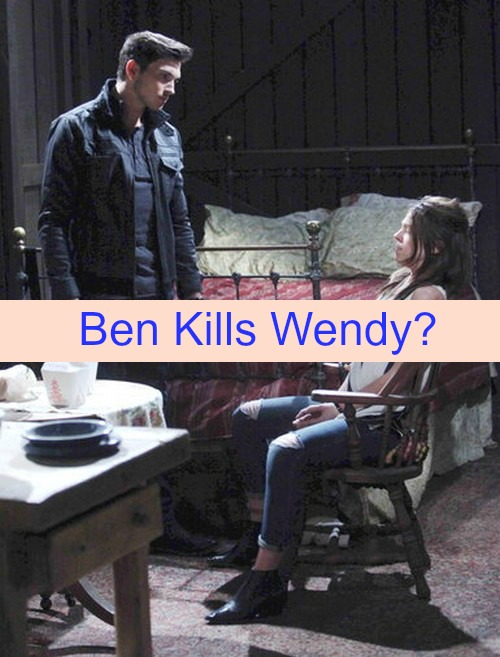 Days of Our Lives (DOOL) Spoilers: Will Ben Kill Wendy - Chad Recalls Ben Serial Killer, Races to Save Abby and Son