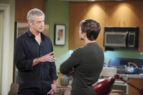 'Days of Our Lives' Spoilers: Justin Catches Lucas and Adrienne Getting Passionate – Will's Research Leads to Danger