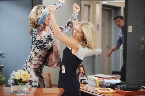'Days of Our Lives' Spoilers: Jennifer and Eve's Quarrel Turns Cutthroat Brawl – Melanie and Brady Tearful Goodbye