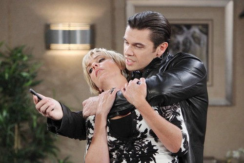 'Days of Our Lives' Spoilers June 15: Xander Threatens Nicole - Eric Learns Serena Conned Him, Tries To Skip Town