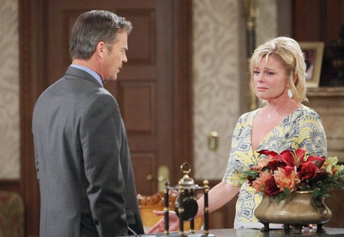Days of Our Lives Spoilers: Stefano Reveals Dark Plan for Abigail, Hope Offers Advice – Justin and Adrienne End Marriage