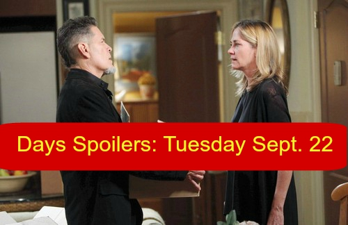 'Days of Our Lives' (DOOL) Spoilers: Rafe Rips Eduardo – Joey Surprises Steve - Nicole Furious Kate is Silent Investor