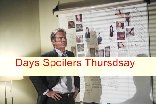 Days of Our Lives (DOOL) Spoilers: Justin Closes in on Chad – Eve Rips Into Jennifer – Abigail Gets Wedding Help